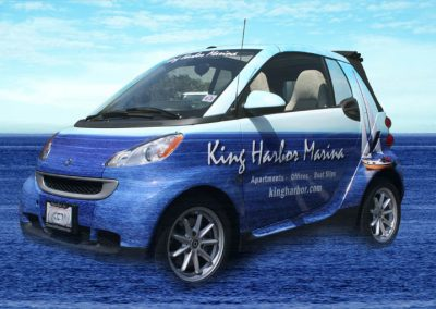 La Wraps King Harbor Smart Car Wrap