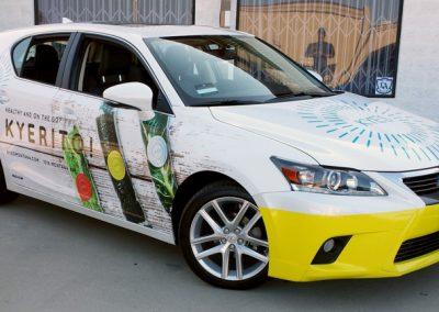 La Wraps Kyerito Lexus Wrap