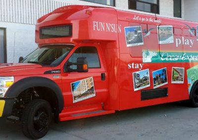 La Wraps Ocean Express Gateway To LA Bus Wrap