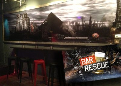 La Wraps Bar Rescue Zombie Apocalypse The End Bar Wall Wrap