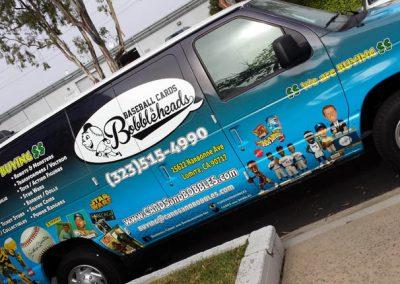 La Wraps Bobblehead Van Wrap