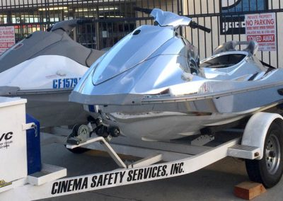 La Wraps Chrome Jet Ski Prop Commercial Wrap 1