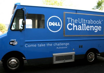 La Wraps Dell Computers Promotional Truck Wrap