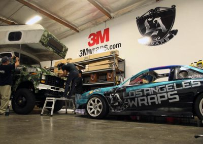 La Wraps Drift Car Wrap Shop