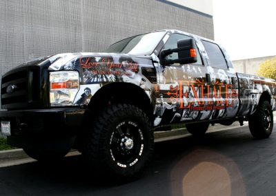 La Wraps Exhale F250 Wrap
