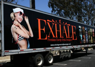 La Wraps Exhale Semi Trailer Wrap2