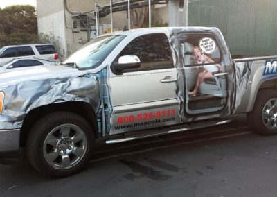La Wraps Franchise Maaco La Half Wrap Custom Design