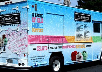 La Wraps Gelato Truck Wrap