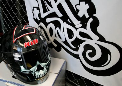 La Wraps Helmet Wrap2