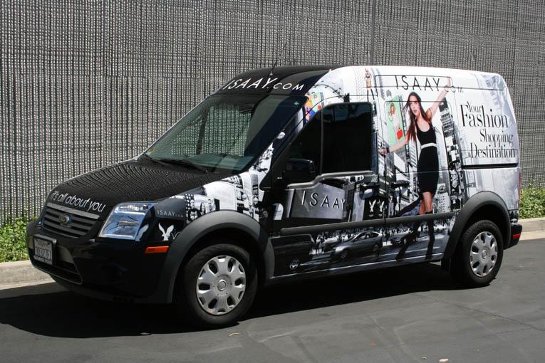 Small Cargo Van Nissan Nv And Transit Wraps Lawraps Com
