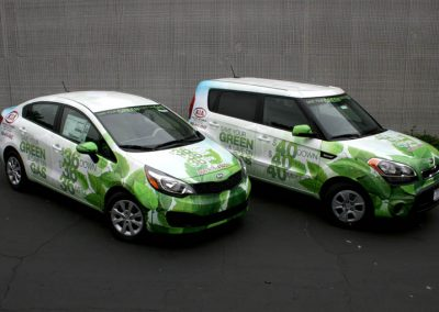 La Wraps Kia Dealership Rio Soul Wrap