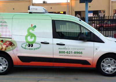 La Wraps Marthas Ford Transit Wrap