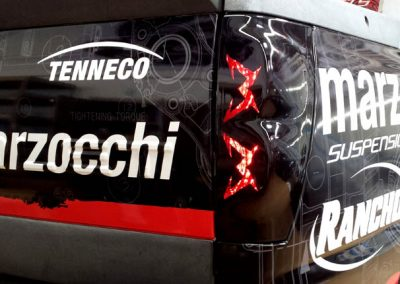 La Wraps Marzocchi Close Up Taillight Wrap