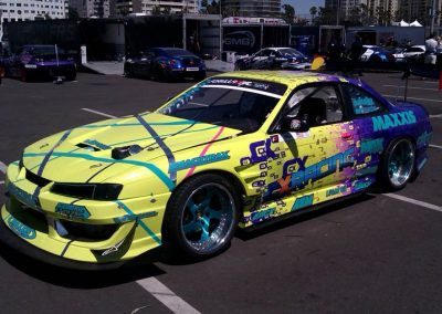 La Wraps Matt Field Drift Race Car Wrap