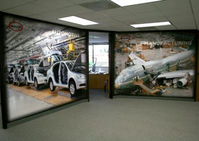 La Wraps Mojix Wall Mural Wrap