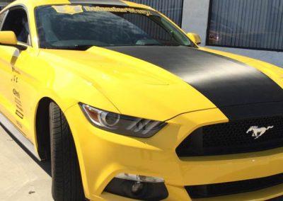La Wraps Mustang Sema Wrap