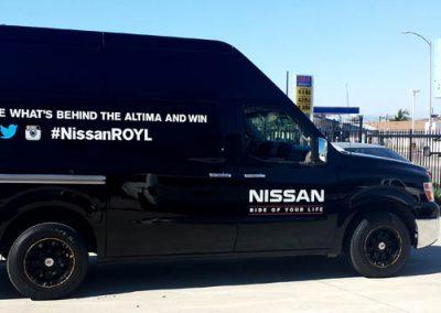 La Wraps Nissan Royl Die Cut Wrap