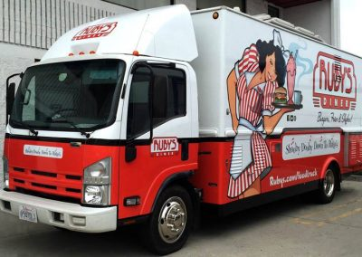 La Wraps Rubys Lunch Truck Wrap