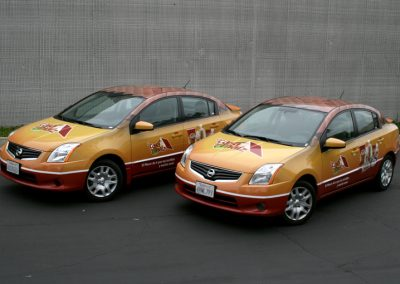 La Wraps Sentra Fleet Wrap