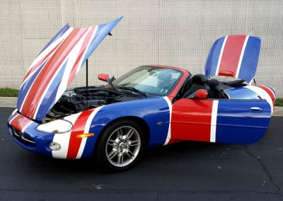 La Wraps Shaguar Jaguar Austin Powers Wrap