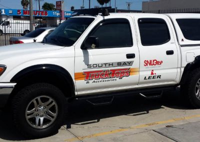 La Wraps South Bay Truck Tops Diecut Vinyl