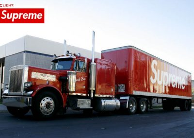 La Wraps Supreme Semi Truck Wrap 1