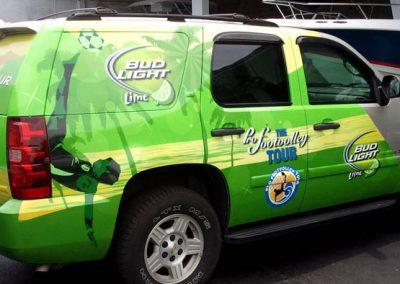La Wraps Tahoe Partial Bud Light Lime Foot Volley