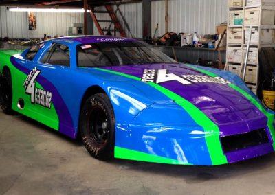 La Wraps Teach 4 Change Garage Nascar Race Car Wrap