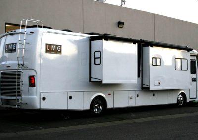 La Wraps Tv Command Center White Rv Wrap