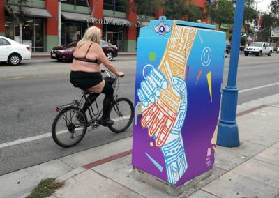 La Wraps West Hollywood Electrical Box Wrap