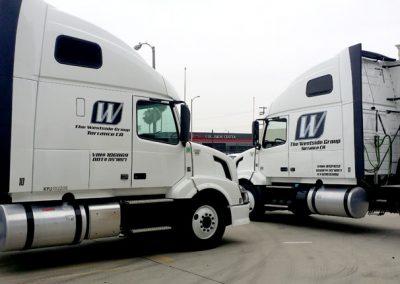 La Wraps Westside Semi Tractor Fleet Wrap