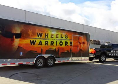 La Wraps Wheels For Warriors Wrap