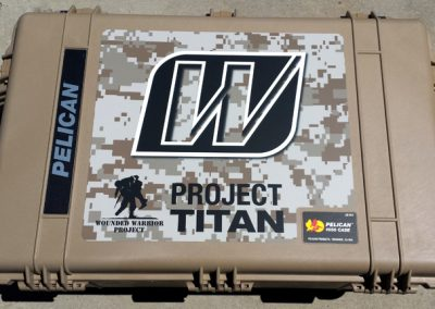 La Wraps Wounded Warrior Project Titan Pelican Case Graphics Wrap