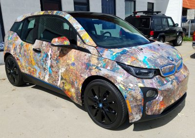 La Wraps Bmw I3 Art Car Wrap 2