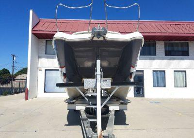 La Wraps Catamaran Shark Mouth Boat Wrap 2