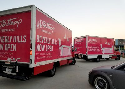 La Wraps Hd Buttercup Delivery Box Truck Wrap 3