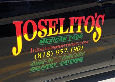 La Wraps Joselitos Die Cut Door Graphics