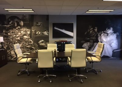 La Wraps Office Conference Room Vintage Photos Wall Wrap