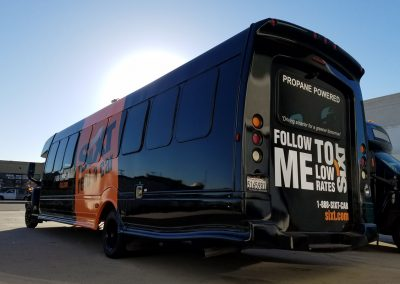 La Wraps Sixt Shuttle Bus Lax Wrap