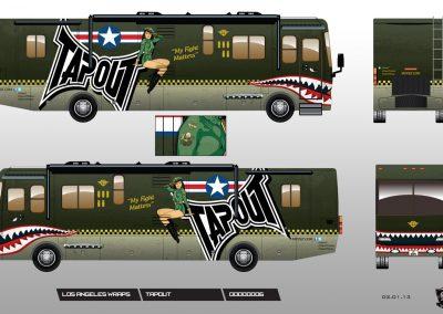 La Wraps Tapout Rv Design Proof