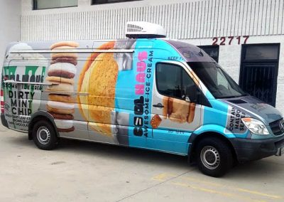 La Wraps Coolhaus Metallic Sprinter Van Wrap