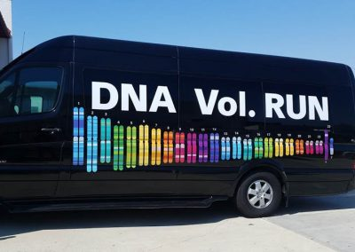 La Wraps Dna Vol Run Sprinter Van Wrap