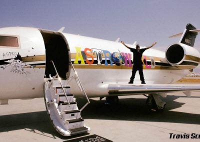 La Wraps Travis Scott Astroworld Jet Plane Wrap